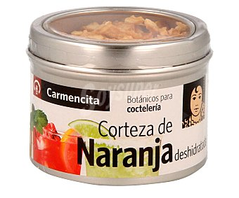 Carmencita Cortezas de naranja deshidratada especial para combinados 20 g