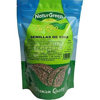 Naturgreen Semillas de chía ecológicas ricas en Omega 3 Envase 225 g