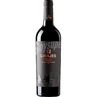12 Linajes Vino tinto reserva tempranillo DO Ribera del Duero Botella 75 cl