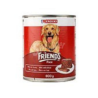 Eroski Alimento con buey Friends Lata 800 g