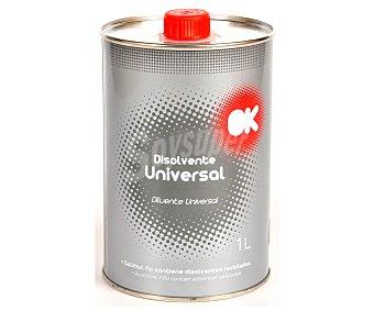 OK Disolvente universal de para pintura, OK 1l