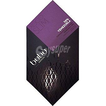 BUBO Chocolate negro origen Venezuela 74% cacao Tableta 60 g