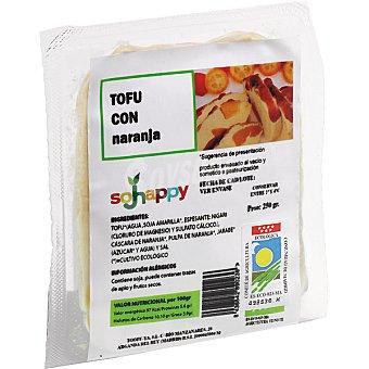 SOJHAPPY Tofu con naranja ecologico envase 175 g Envase 175 g