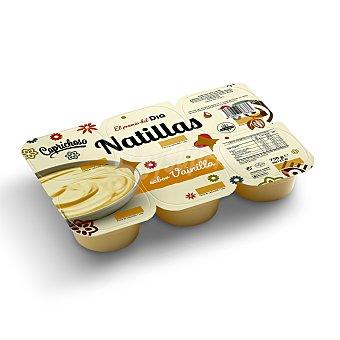DIA Natillas sabor vainilla caprichoso Pack 6 unidades 125 gr