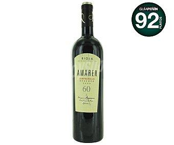 AMAREN Vino tinto Reserva, Tempranillo Botella de 75 Centilitros