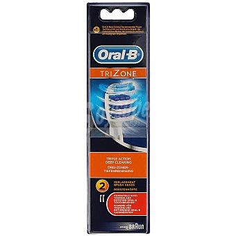 Oral -B Recambio Cepillo Eléctrico Trizone 2 Unidades