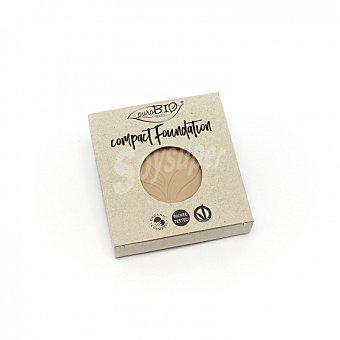 Recambio de base de maquillaje compacto col.02 claro ecológico purobio 1 ud