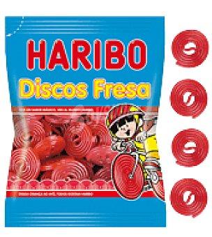 Haribo Discos de regaliz de fresa 80 g
