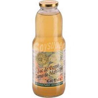 CAL VALLS Zumo de manzana Frasco 1 litro
