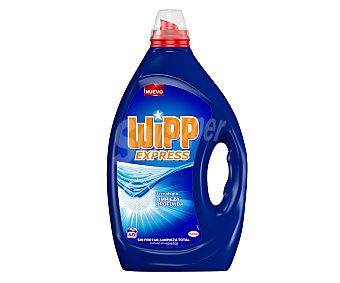 Wipp Express Detergente gel azul para máquina Botella 40 dosis