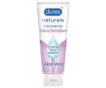 DUREX Naturals Gel lubricante íntimo con aloe vera extra sensitivo 100 ml