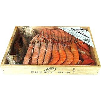 Puerto sur mariscada cocida caja 1 kg