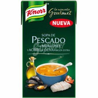 Knorr Sopa de pescado con mejillones Brik 500 ml