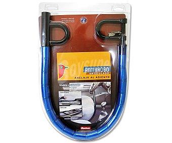 Auchan Cadena anti-robo articulada para coche, con anclaje al asiento y al volante 1 unidad