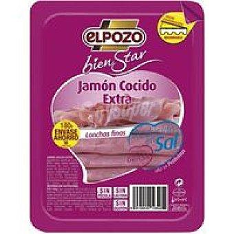 ELPOZO Jamón cocido bajo en grasa y sal bienStar sobre 180G