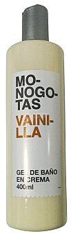 Deliplus Gel baño monogotas vainilla Botella 400 cc