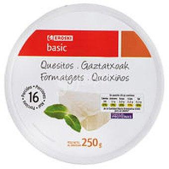 Eroski Basic Queso fundido Caja 250 g