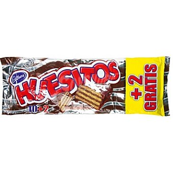 Huesitos Valor chocolatinas pack 10 + 2 gratis unidades 20 g