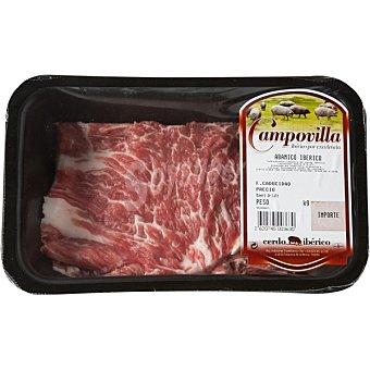 Campovilla Abanico de cerdo ibérico fresco peso aproximado Bandeja 350 g