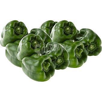 Pimiento lamuyo verde gordo al peso Al peso 1 kg