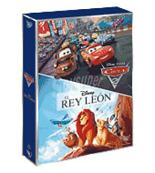 Disney Pack rs carrefour rey leon + cars 2