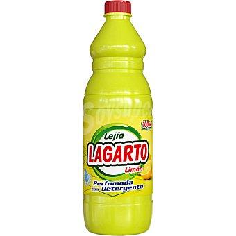 Lagarto Lejia perfumada con detergente limon Botella 15 l
