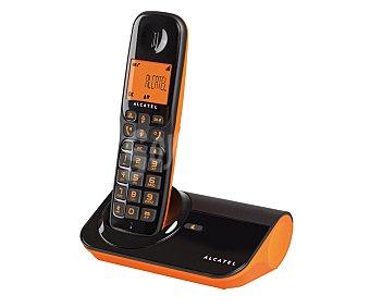 ALCATEL SIGMA 260 Teléfono inalámbrico Detc Naranja, identificador de llamadas, agenda 50 números, función manos libres, rellamada del último número marcado,