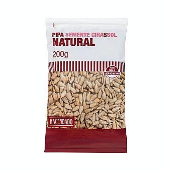 Hacendado Pipas girasol mondadas naturales Paquete 200 g