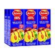 Zumo de melocotón, uva y manzana Pack 6 x 20 cl Juver