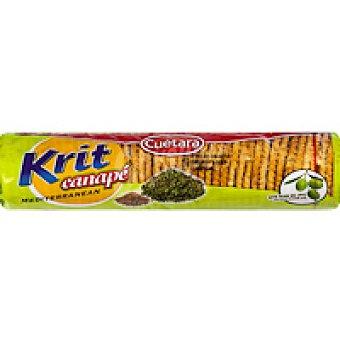 Cuétara Galleta krit para canapé sésamo-orégano Paquete 115 g