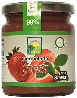 Mermelada de fresa con stevia abellán Frasco 235 g
