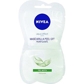 Nivea Mascarilla Purificante activa para piel mixta Aqua Effect Envase 15 ml