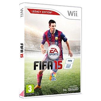 WII Wii videojuego fifa 15  1 unidad