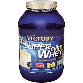 Victory Super Nitro Whey proteína de suero sabor vainilla Envase 1 kg