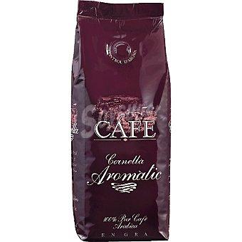 CORNELLA Aromatic cafe natural en grano Paquete 250 g