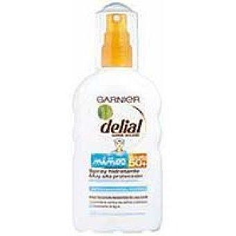 Delial Garnier Bronceador infantil niños F50 Spray 200 ml