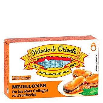 Palacio de Oriente Mejillones de las rías gallegas en escabeche 68 g
