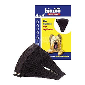 Biozoo Axis Slips higiénicos para perros talla 3 color negro Caja 1 unidad