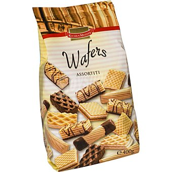 KUCHEN MEISTER Wafers Assortiti Bolsa 400 g