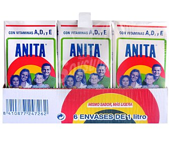 Anita Preparado lacteo Brick pack 6 x 1 l - 6 l