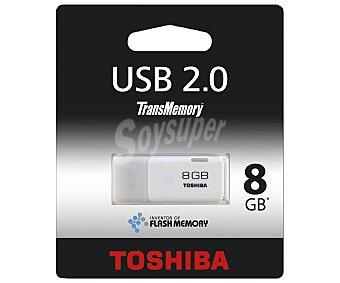 Toshiba Memoria USB Pendrive, 8GB, Usb 2.0 8GB Usb 2.0