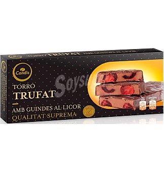 Condis Turrón trufado con guindas al licor 200 G