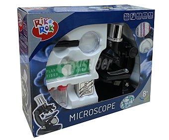 RIK & ROK Microscopio con 19 Piezas 1 Unidad