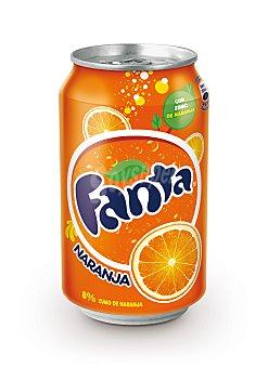 Fanta Refresco de naranja Lata 33 cl
