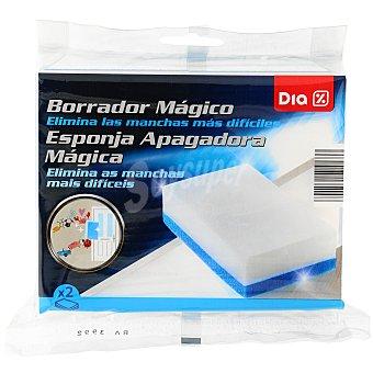 DIA Esponja borrador mágico Envase 2 u