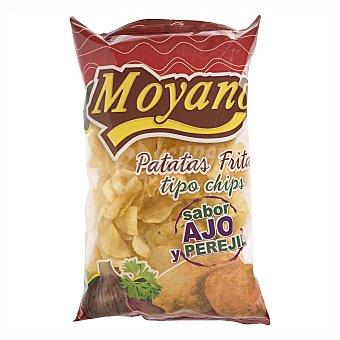 Moyano Patatas fritas sabor ajo y perejil Bolsa 200 g