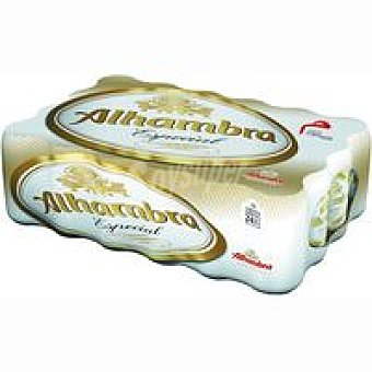 Alhambra Cerveza especial Pack 24x33 cl