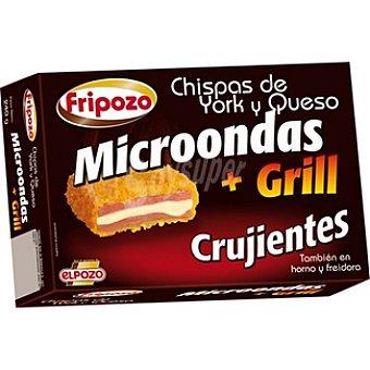 Fripozo Microondas + Grill chispas de york y queso crujientes también en horno y freidora Estuche 240 g