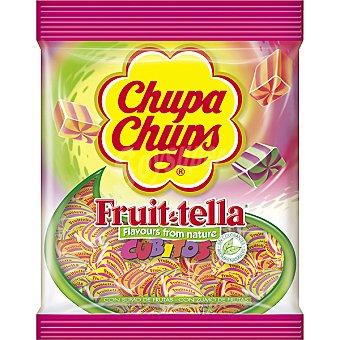 Chupa Chups Fruit Tella. Cubitos caramelos blandos elaborados con zumo de frutas Bolsa 150 g
