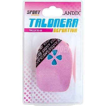 ANDIX 6195 Talonera deportiva de gel talla 35-40
